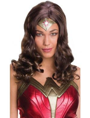 Wonder Woman Brown Wig Costume Accessory