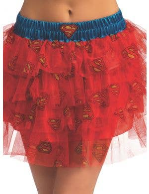 Officially Licensed Women's Supergirl Sequin Costume Skirt