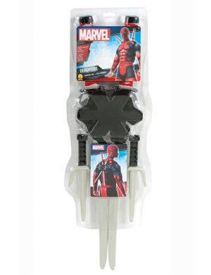 Deadpool Superhero Costume Accessory Weapon Kit