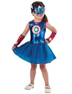American Dream Girls Fancy Dress Costume