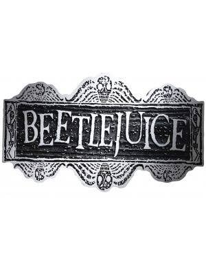 Beetlejuice Sign Halloween Party Decoration