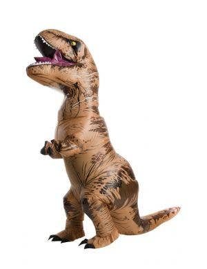 T-Rex Jurassic World Adult's Plus Size Inflatable Costume