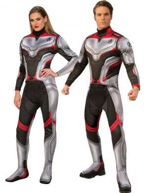 Team Suit Deluxe Avengers Endgame Unisex Adults Costume