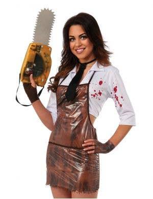Leatherface Sexy Women's Halloween Costume