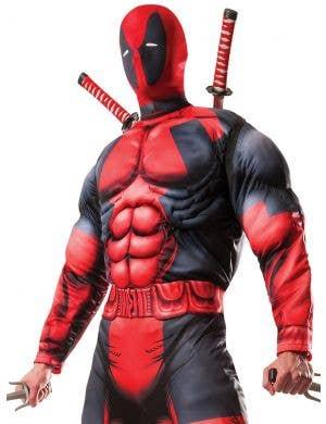 Deadpool Deluxe Muscle Chest Men's Costume