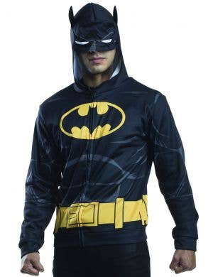 Batman Superhero Adult's Costume Jumper