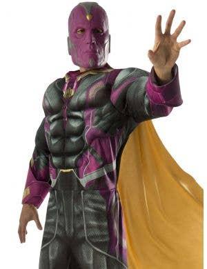 Avengers 2 - Vision Muscle Chest Men's Costume