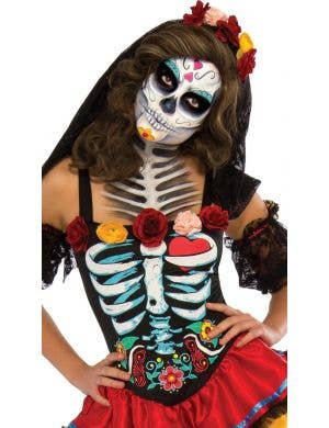 Senorita Muerta Women's Day of the Dead Costume