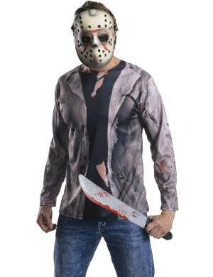 Jason Voorhees Friday the 13th Mens Halloween Slasher Costume
