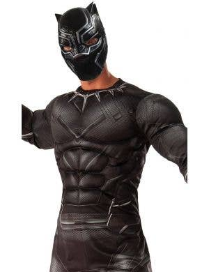 Black Panther Men's Deluxe Muscle Chest Costume