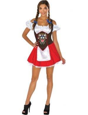 Beer Garden Babe Womens Sexy Oktoberfest Costume
