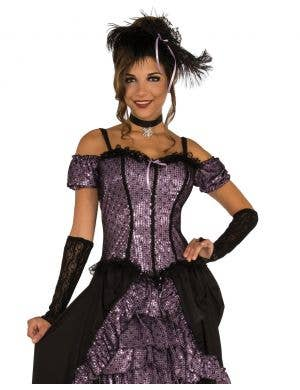 Dance Hall Mistress Women's Saloon Girl Costume