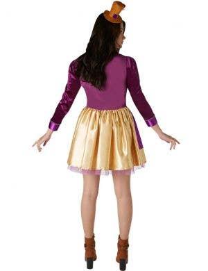 Willy Wonka Women's Chocolate Maker Costume