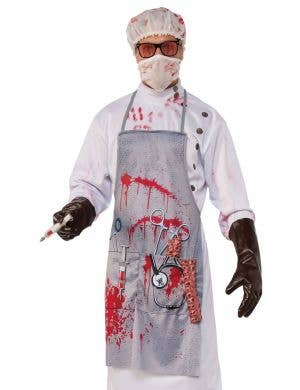 Mad Doctor Men's Blood Splattered Halloween Costume