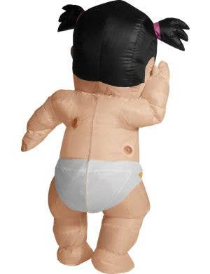 Funny Inflatable Daddy's Li'l Girl Baby Adult's Costume