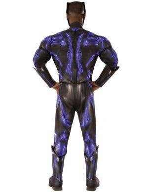 Black Panther Battle Suit Men's Muscle Chest Costume