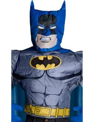 Batman Adult's Inflatable Shirt and Head Superhero Costume