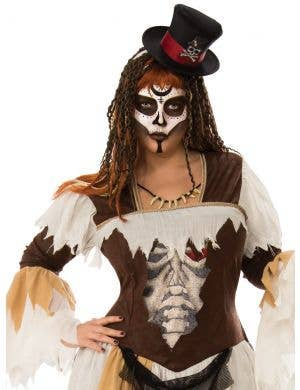 Voodoo Conjurer Women's Plus Size Halloween Costume
