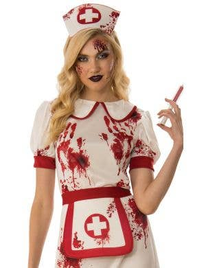 Bloody Nurse Sexy Women's Halloween Costume