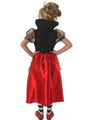 Red Queen of Hearts Girls Costume