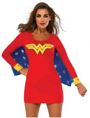 Wonder Woman Dress Women's Superhero Costume