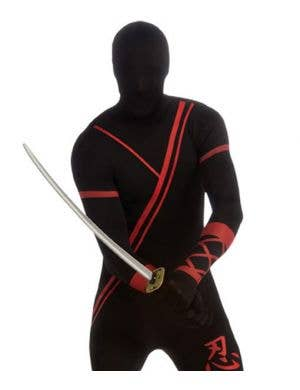 Ninja Second Skin Jumpsuit Costume