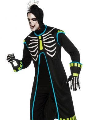 Ravin' Skeletech Men's Halloween Costume