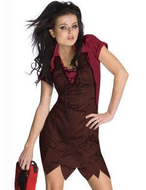 Texas Chainsaw Massacre - Sexy Women's Leatherface Costume