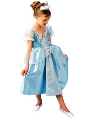 Cinderella Deluxe Princess Girls Costume
