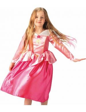 Classic Sleeping Beauty Princess Girls Costume
