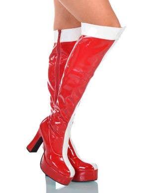 Wonder Woman Platform Boots