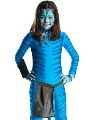 Avatar Neytiri Girls Fancy Dress Costume