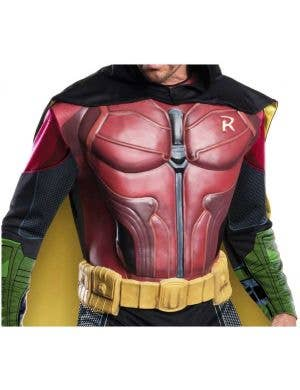 Arkham City Men's Robin Fancy Dress Costume