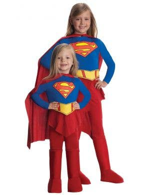 Classic Supergirl Kids Fancy Dress Costume