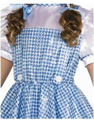 Wizard of Oz - Sequined Dorothy Girls Costume