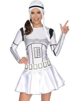 Star Wars Women's Black And White Stormtrooper Dress