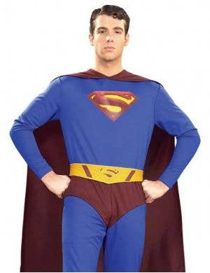 superman returns mens costume superman returns mens costume