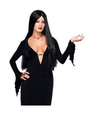Addams Family Morticia Sexy Women's Halloween Costume
