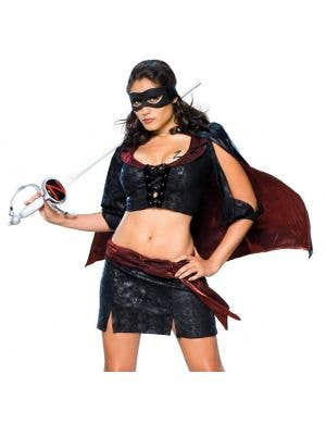 Lady Zorro Women's Sexy Costume