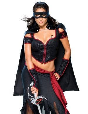 Lady Zorro Sexy Women's Costume