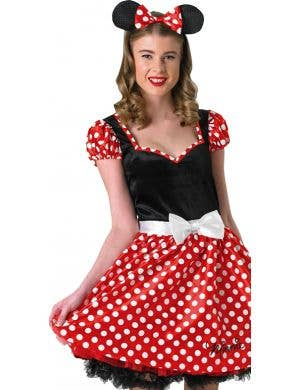 Sassy Minnie Mouse Women's Fancy Dress Costume