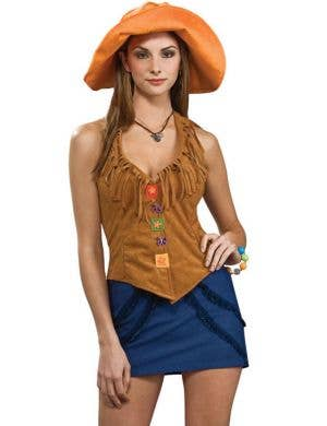 70's Girl Women's Hippie Costume