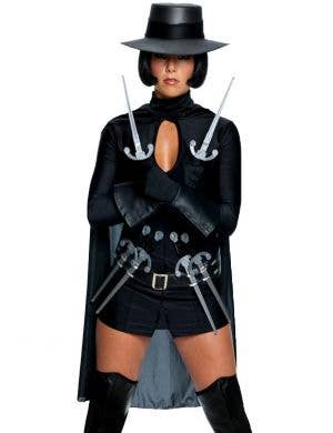 V For Vendetta Sexy Women's Costume