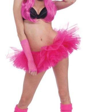 Neon Pink Women's 1980's Costume Tutu