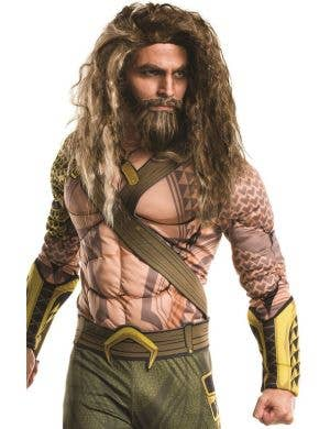 Aquaman Deluxe Men's Fancy Dress Costume