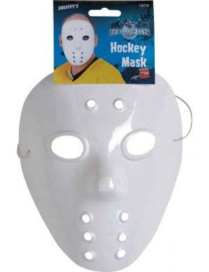Friday the 13th White Hockey Mask Costume Accessory
