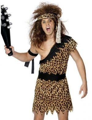 Caveman Men's Budget Fancy Dress Costume