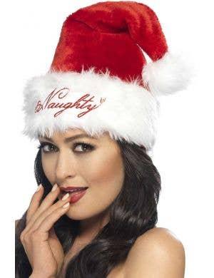 Naughty or Nice Women's Sexy Santa Hat
