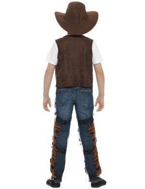 Texan Cowboy Kids Fancy Dress Costume