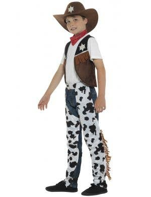 Texan Cowboy Kids Fancy Dress Costume